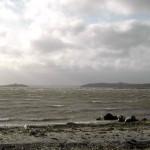 Uvejrsskyer over Kaløvig